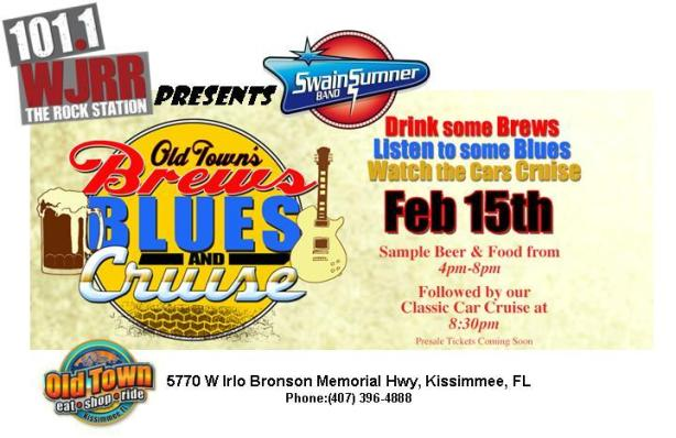 Blues Brews and Crews Swain Sumner Band WJRR